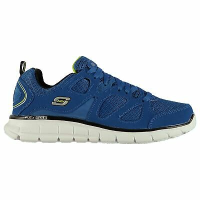 Skechers Kids Boys Vim Turbo Trainers Child Lace Up Breathable Padded Ankle