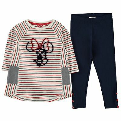Character Kids Girls 2 Piece Set Infant Clothing Long Sleeve Crew Neck Textured