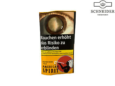 10x American Spirit Orange Drehtabak  / Pouches 30g 5,00€