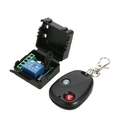 12V 4CH CHANNEL 433Mhz Wireless Remote Control Switch With 2