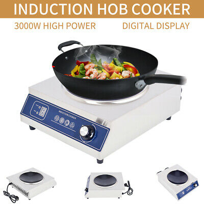 3000W Portable Electric Induction Cooktop  Cooker/Stove Hot Plate/Kitchen