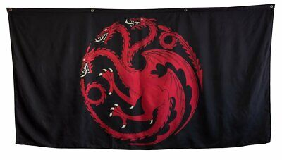 "Game of Thrones House Sigil Giant Banner (62"" by 118"") (Targaryen)"