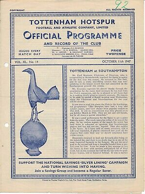 Tottenham Reserves v Leicester City (Combination) 1947/8