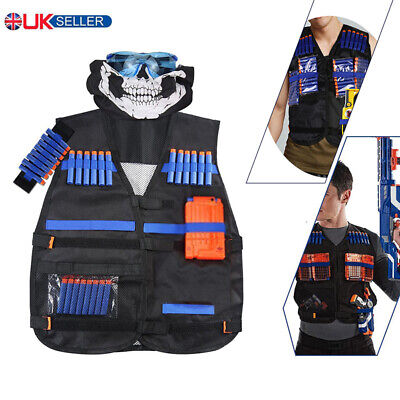 Tactical Vest Kit For Nerf Guns N-Strike Elite Series Safety Set Outdoor Game