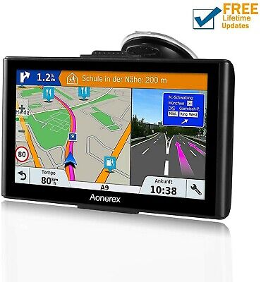 Sat Nav GPS Navigation System, 5-Inch HD Touch Screen&Built-in 8GM-128MB...