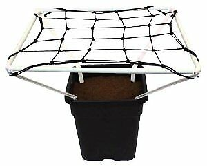 Scrog Net 1m/1.2m With Frame Plant Support Grow Tent Hydroponic Growing