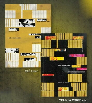 Stray Kids-[Cle 2:Yellow Wood] Normal Random Ver CD+Book+Card+etc+Tracking No