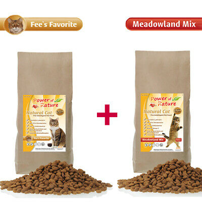 Power of Nature Natural Cat Fees Favorite + Meadowland Mix Katzenfenfutter Huhn