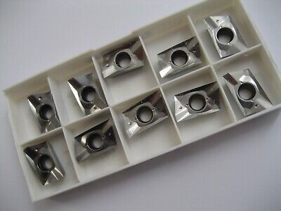 10 x XOEX180604FR-E10 H25 SECO XOEX SOLID CARBIDE FACE MILL MILLING INSERTS  #57