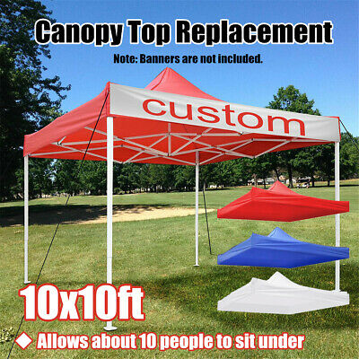 3x3M 1-Tier Outdoor Garden Canopy Gazebo Top Cover Roof Replacement Oxford Tent