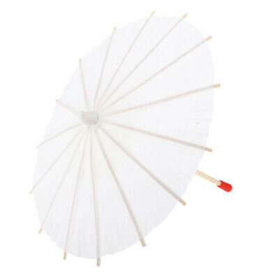 Chinese Japanese Hand-made 20cm Umbrella Paper Parasol Hand-painted Decors