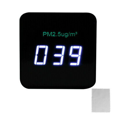 OLED Digital Display USB Rechargeable Mini Portable PM2.5 Detector  H6D4
