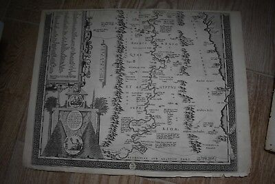 1584 Abraham Ortelius map ancient Egypt ancient pyramids Scipio Fabio
