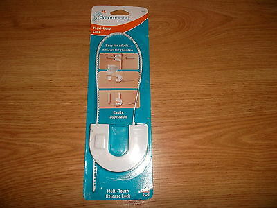 Child safety lock, flexi loop lock, DREAMBABY (DREAM BABY), NEW in packaging