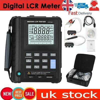 MS5308 Portable Handheld LCR Meter 100Khz Inductance Resistance Capacitance  UK