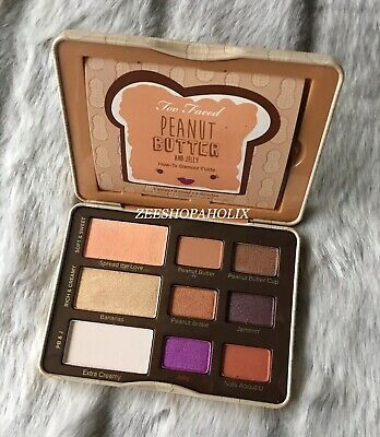 Too Faced - Peanut Butter And Jelly Eyeshadow Palette 100% GENUINE!