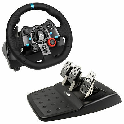 Boxed New LOGITECH Driving Force G29 PlayStation & PC Racing Wheel & Pedals -
