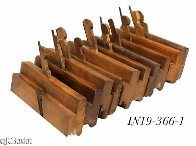 wood wooden many complex MOLDING PLANE TOOLS gardner OH ohio others