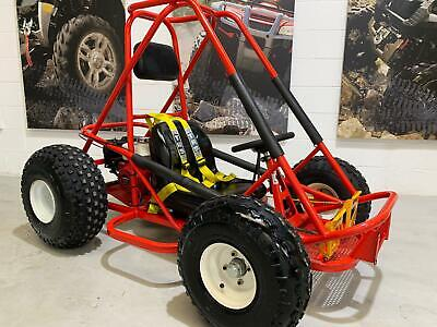 Honda Buggy Off Road Go Kart Petrol Cart Trx 200Cc Race Atv Quad Kids Childrens