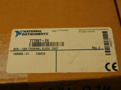 National Instruments SCXI-1324 High Voltage Terminal Block 48 Screw Terminals