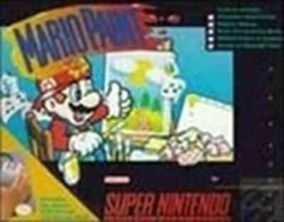Mario Paint - Nintendo SNES Game Authentic
