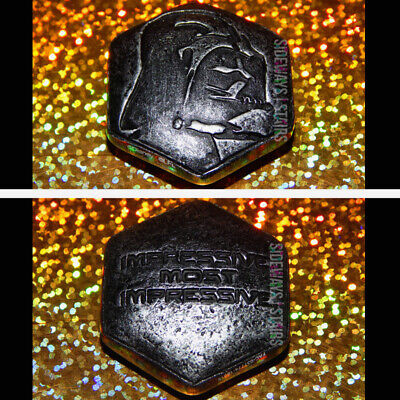 DARTH VADER SITH WISDOM TOKEN Star Wars Galaxy's Edge quote stone rock Disney