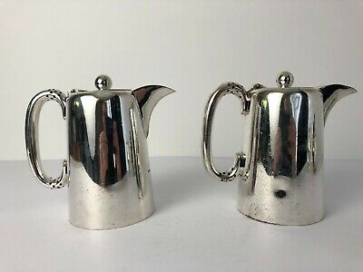 Pair of Vintage Walker & Hall A1 Silver Plated Coffee Pots 53312