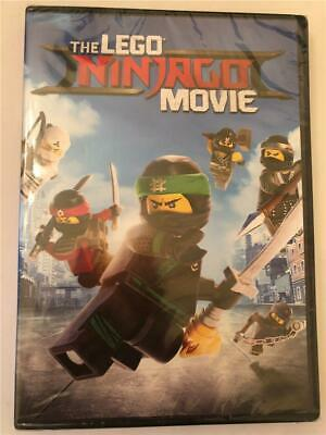 NEW The LEGO NINJAGO Movie (DVD, 2017)