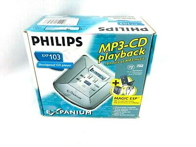 Philips Expanium CD portable 103 Portable MP3-CD player with MAGIC ESP TM