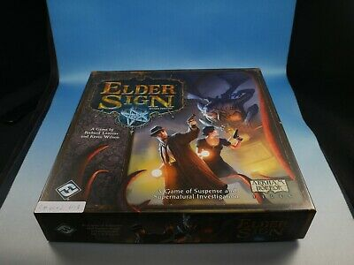 Elder Sign Cthulhu Adventure Horror Board Game Expansion by Fantasy Flight RM002