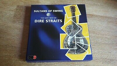 """2CD + DVD The very best of DIRE STRAITS """"Sultans of swing"""" Comme neuf"""