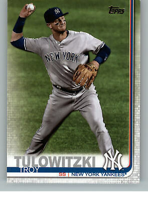 2019 Topps Baseball Series 2 622 Troy Tulowitzki - New York Yankees