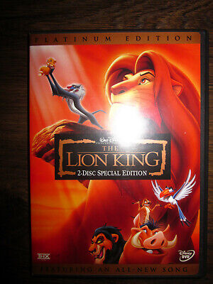 The Lion King  Special Platinum Edition 2 Disc