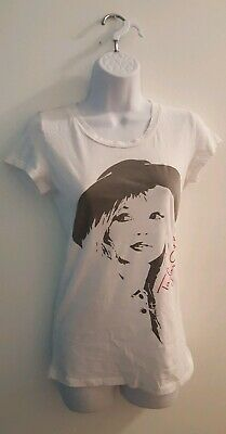 1aa65652 Taylor Swift Juniors Self Portrait White Short Sleeve T-Shirt Size Small