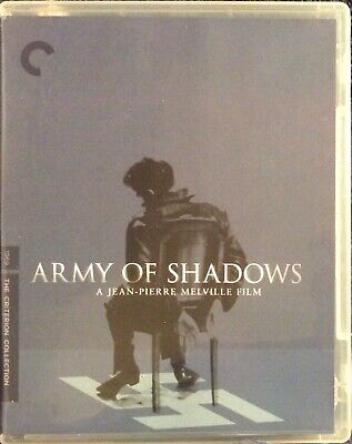Army Of Shadows (2011 Criterion) 715515066815 Like New Blu-Ray BluRay. Free S&H!