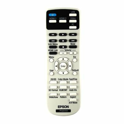 Genuine Epson EH-TW5200 / EHTW5200 Projector Remote Control