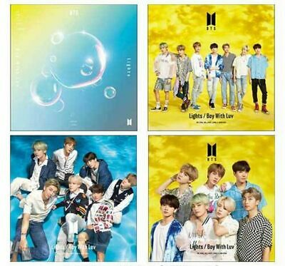 BTS (Bangtan Boys) Japan 10th Single [Lights/Boy With Luv] 4 type Album Set