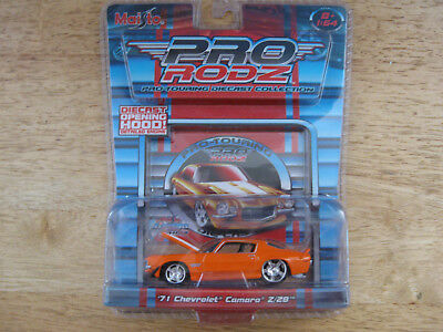 Maisto Pro Rodz Pro-Touring  1971 Chevrolet Camaro Z/28 Diecast Collection Vehic