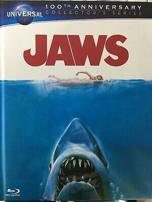 JAWS - Universal 100th Ann Collector's Series - BLURAY Digibook 1975 AS NEW!