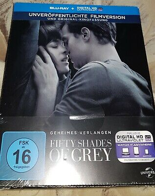 Fifty Shades of Grey - Blu-ray - Steelbook - Neu - Sammlung