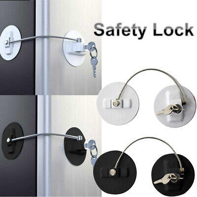 Child Safety Lock Window Refrigerator Safety Door Limit Lock For Drawer Security