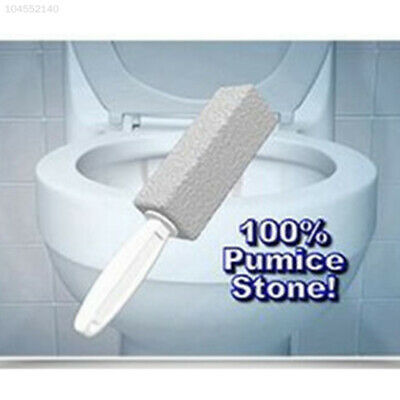 8F57 2pcs Portable Water Toilet Bowl Pumice Stone Cleaner Brush Wand Cleaning