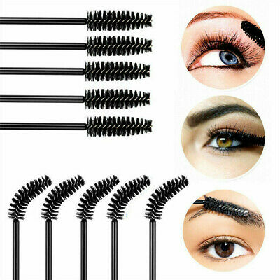 50xDisposable Mascara Wands Eyelash Brushes Applicator Lash Extension Brush Wand