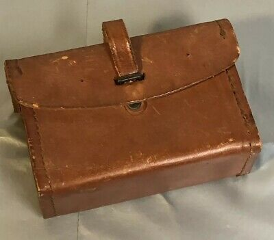 Vtg Sears 1943 WW2 WWII BAR Leather Spare Parts Tool Ammo Pouch Kit