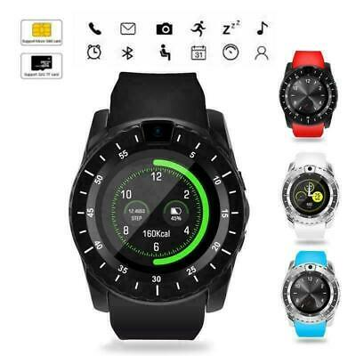 Bluetooth Smart Watch Android Samsung iPhone Fitness Tracker Fitbit Pedometer