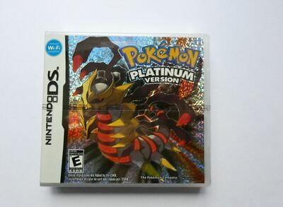 Pokemon Platinum *New & Sealed* Ds Lite 3Ds 2Ds Free & Fast Delivery Uk Seller