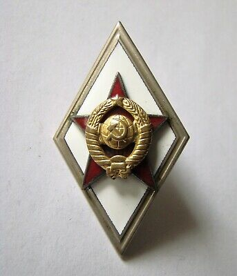 Soviet Russia USSR Military Graduate badge , High officers , medal, order