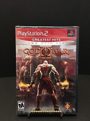 God of War II BRAND NEW FACTORY SEALED Y FOLD Sony PlayStation 2 PS2 COMPLETE