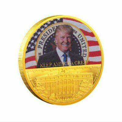 New 2020 Donald Trump President US Commemorative Coin Keep American Great
