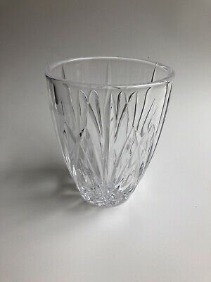 """Marquis by Waterford Brookside Hurricane 5 1/2"""" inch Vase"""